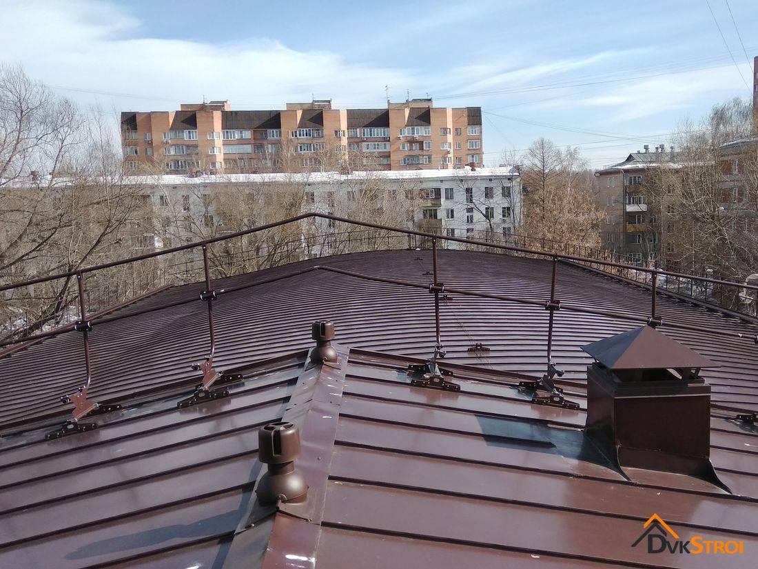 Ремонт плоских крыш и мягкой кровли -
