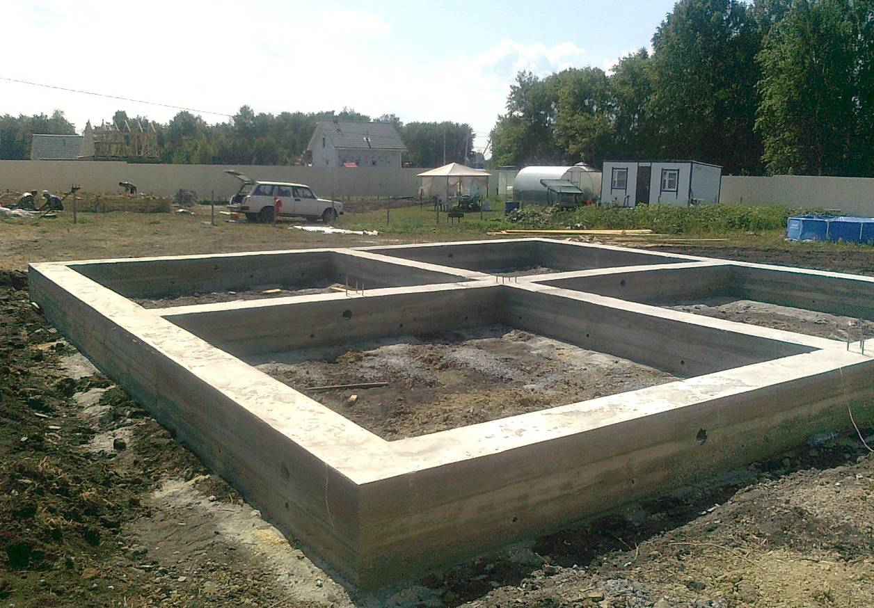 Ленточный фундамент своими руками - пошаговая инструкция и устройство фундамента для дома