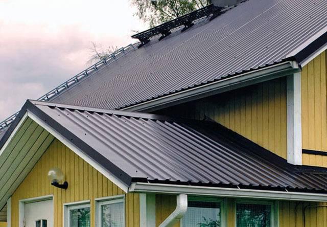 Профнастил для крыши: виды кровельного профнастила, характеристики и стоимость листа, фото