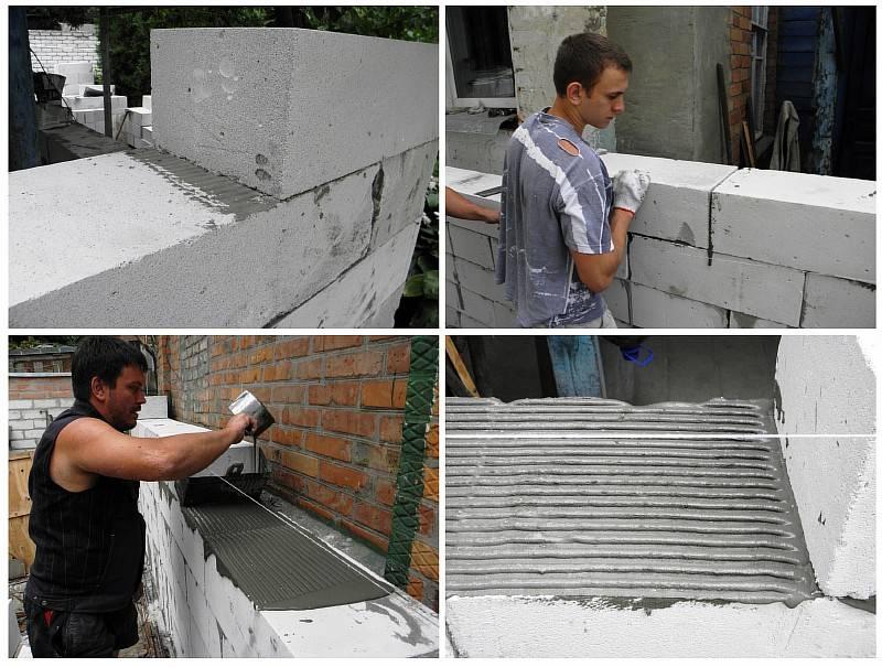 Кладка шлакоблока своими руками, как самостоятельно построить дом?