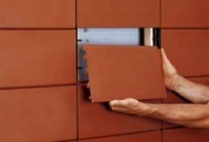 Чем выделяется керамическая фасадная плитка среди конкурентов + инструкция по монтажу
