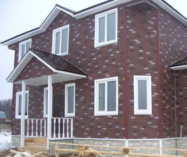 Цокольный сайдинг (54 фото) — размеры сайдинга для цоколя и фундамента домов