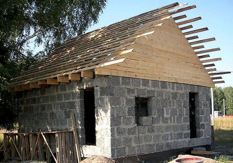 Дом из осб-панелей