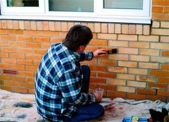 Какой краской покрасить кирпичный дом: что выбрать для наружных работ