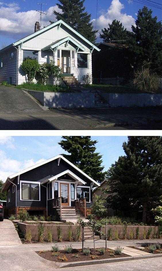 Цвет фасада дома ~ подобрать по 69+ фото модных сочетаний с крышей: комбинация, палитра, онлайн
