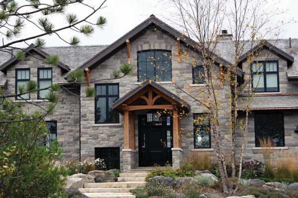 Облицовочный (фасадный) камень: искусственный и натуральный, декоративный, технологии производства работ