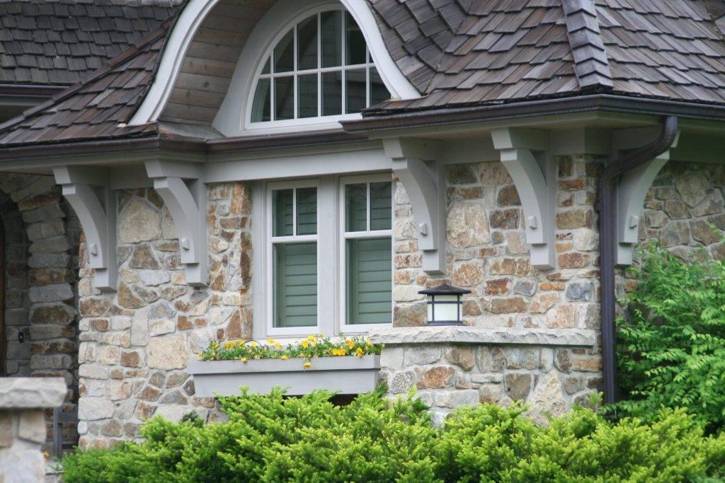 Использование гибкого камня для отделки фасада