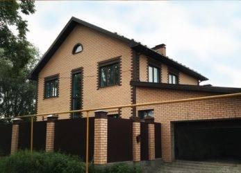 Красный облицовочный кирпич: описание, размеры (250х85х65 мм и т.д) + фото домов и их фасадов