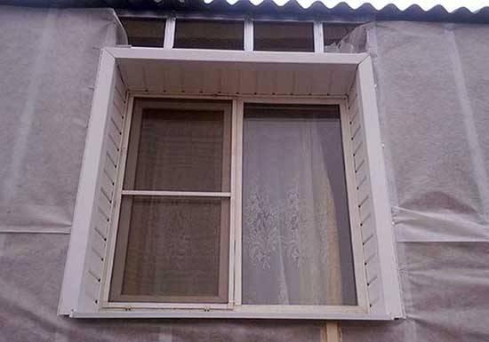 Отделка окна сайдингом с лицевой стороны. наиболее распространенные способы