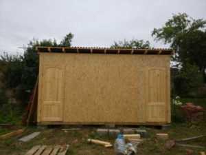 Расчет материала на сарай размером 3х6 метра (+ 6 видео) - построй
