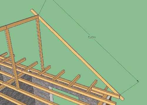 Расчет односкатной крыши — калькулятор онлайн